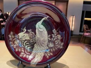 江戸時代の漆塗り絵皿を愛でながら。。。